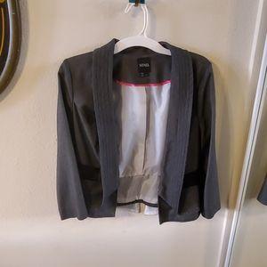 XOXO Gray Suit Jacket